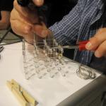 soldering a SwarmCube