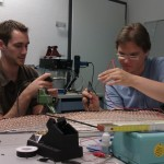 Soldering & Testing the matrix at Areus Engineering