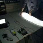 All LEDs lit up